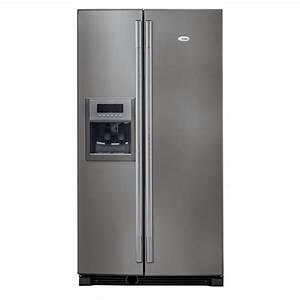WHIRLPOOL WSE5531 A+ X Inox Achat / Vente réfrigérateur américain WHIRLPOOL WSE5531 A+ X Inox
