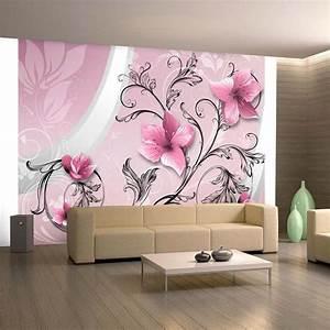 Decoration Murale Design : papier peint 3d cr ant un effet abstrait et trompe l il saisissant design feria ~ Teatrodelosmanantiales.com Idées de Décoration