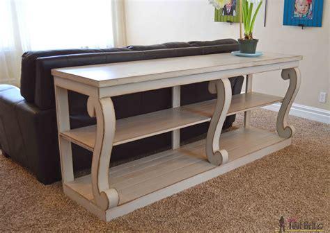 console table  scroll legs  tool belt