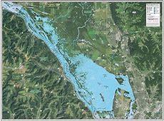 Mississippi River Pool 7Lake Onalaska Enhanced Wall Map