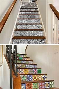 les 25 meilleures idees de la categorie adhesif sur With carrelage adhesif salle de bain avec ruban led escalier