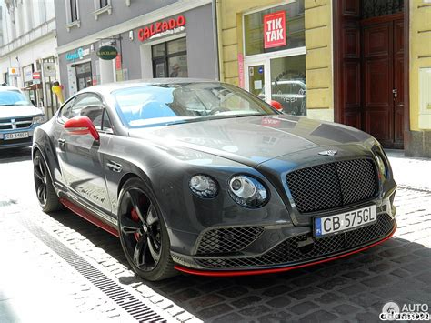 Bentley Continental Gt Speed Black Edition 2018 20 April