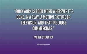Good Work Quotes. QuotesGram