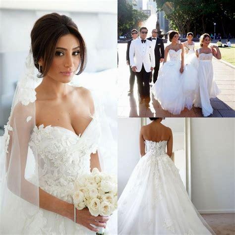 celebrity wedding dresses luxury brides