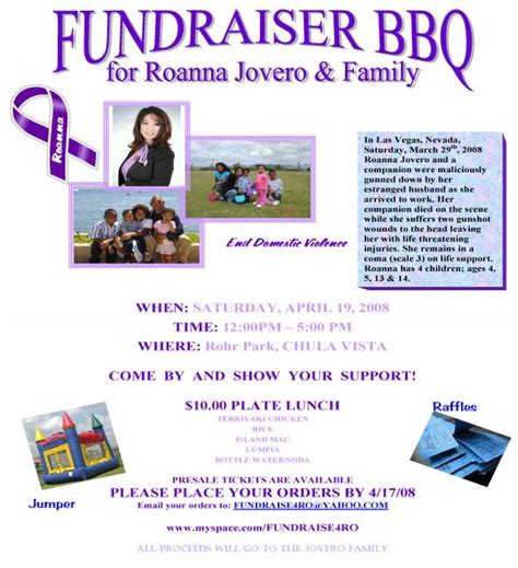 Fundraising Presentation Template by Bbq Fundraiser Flyer Template Images Plate Fundrais On