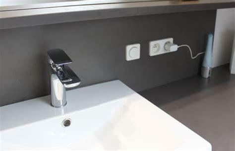 installation electrique salle de bain l installation 233 lectrique dans la salle de bain travaux