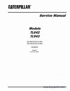 Caterpillar Tl642  U0026 Tl943 Service Manual Pdf