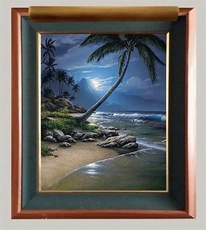Gary Fenske Kauai Moon Artists Paintings Artcorporationofamerica