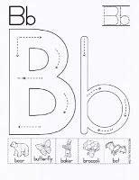 preschool activities letter   week bb  images