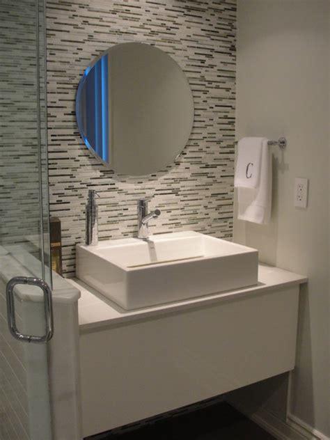 small vases guest bathroom contemporary bathroom toronto by