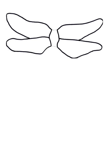 dragonfly template 3d dragonfly craft