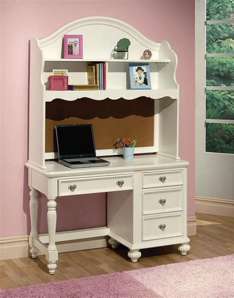 desk and hutch set athena white finish solid wood desk and hutch set