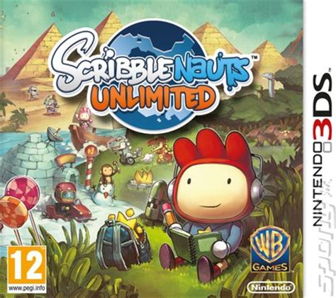 covers box art scribblenauts unlimited dsds