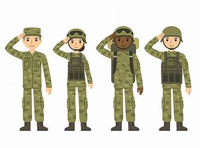 Army Soldier Clip Illustrations Vector Cartoon Military
