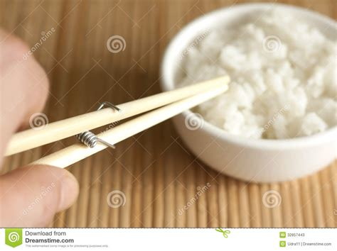 invention cuisine invention of with chopsticks stock image image