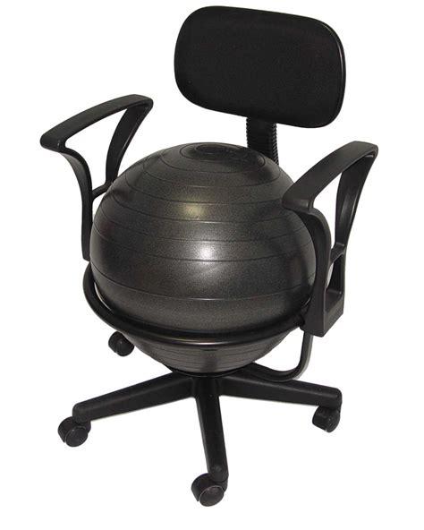Yoga Ball Chair Staples Ergonomic Ball Chair For Office