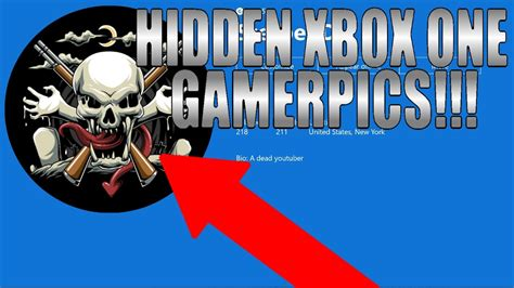 How To Get Hidden Gamerpics On Xbox One Youtube