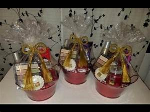 Gift Basket Idea Tutorial for the Grown & y 2016