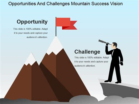 Opportunities And Challenges Mountain Success Vision