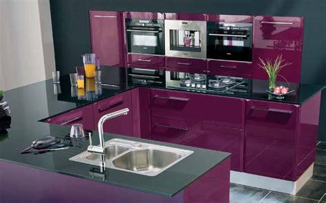 cuisine blanc et violet cuisine aubergine lapeyre photo 2 10 splendide couleur