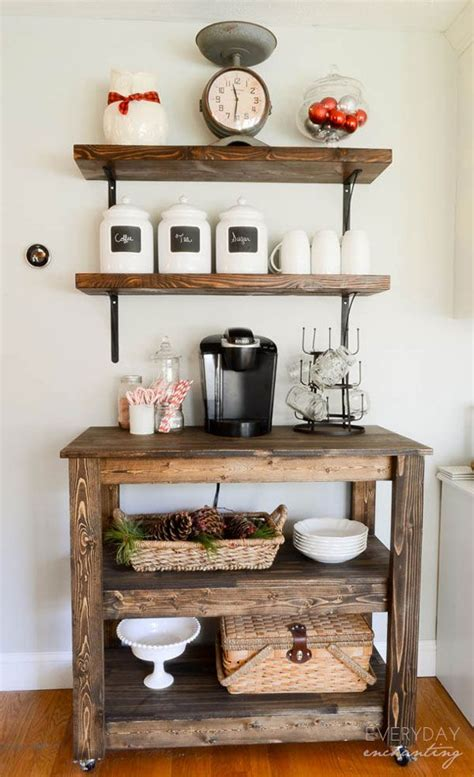 Kitchen Cart Pipe by Coffee Cart For Home Popular Diy Industrial Pipe Kitchen