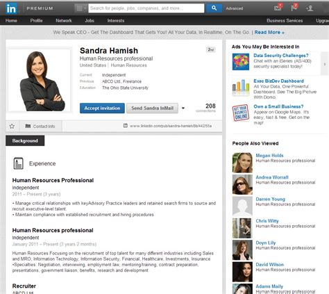 Upload Resume Linkedin Profile by Creating Resume From Linkedin Profile Free Resume