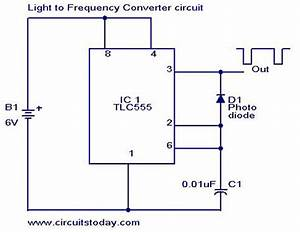 U0026gt Light To Frequency Converter Circuit