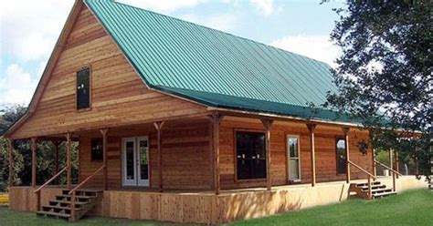 two story tuff shed ranch cabin options shown full wrap