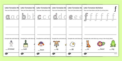 letter formation worksheets   letter formation
