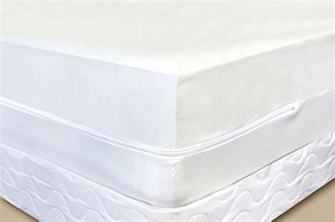 King Size Matress Cover Fabric Zippered Protector