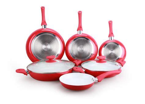 batterie cuisine ceramique induction cenocco cc 9003 c batterie de cuisine en revêtement