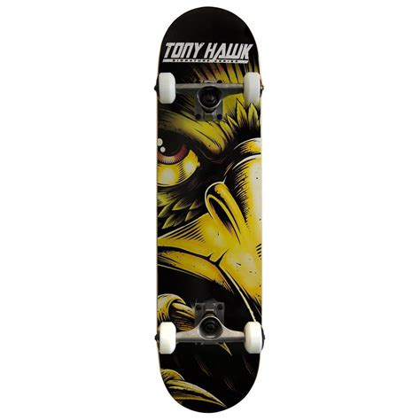 Cheap Skateboard Decks 75 by Tony Hawk 540 Series Skateboard Evil Eye Gold 7 75