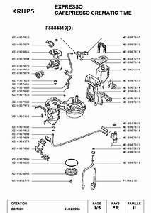 Krups Expresso Exploded Views Service Manual Download