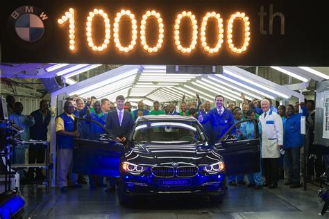 Bmw South Africa Plant by One Millionth Bmw 3 Series Sedan Produced At Bmw South