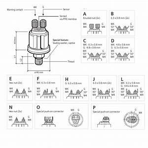 Vdo 360081030112c Iveco 787400 Oil Pressure Sensor