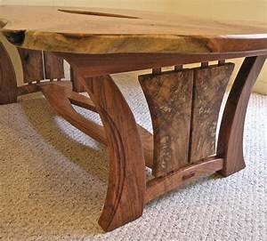 Live Edge Mesquite Coffee Table – Louis Fry / A Furniture