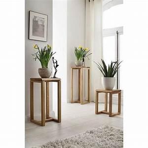 Blumenständer Aus Holz : beistelltisch holz kernbuche ~ Whattoseeinmadrid.com Haus und Dekorationen