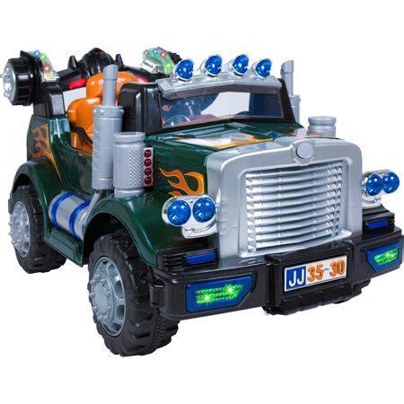 truck ride walmart remote control radio semi power electric rig