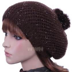 Winter Knit Beanie Hat for Woman