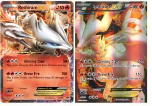 The Pokemon Ex Card reshiram