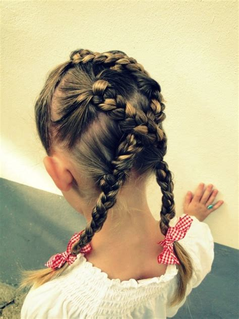 Kid Hairstyles Easy by 15 Easy Hairstyles For Kidsomania
