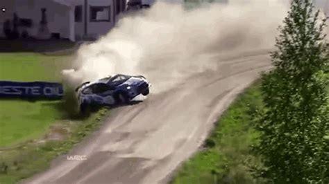 wrc neste oil rally finland crash review special