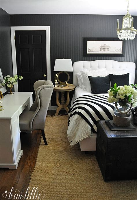 Jenni's Previous Home - Guest Room with Dark Beadboard
