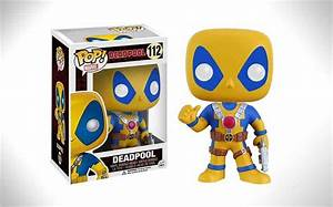 Funko Pop Deadpool Yellow And Blue 112 Nerd Much