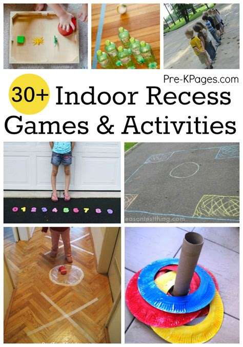 easy activities for preschoolers indoor recess for preschoolers 766
