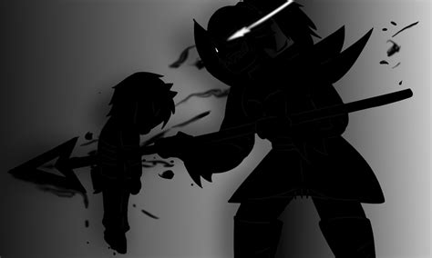 Undyne The Undying Vs Frisk Au // Undertale By