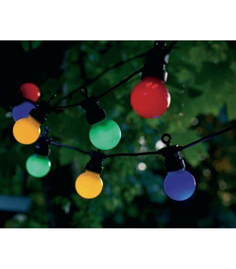 guirlande extérieure guinguette guirlande lumineuse ext 233 rieure leds multicolore guinguette wadiga