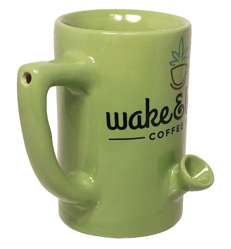 The pipemug is a coffee mug that has a built in a pipe that allows you to smoke all sorts of weed tobacco while you. PHAG- Philadelphia Home Art Garden
