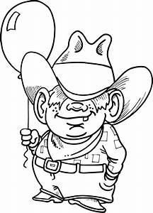 Woody Cowboy Coloring Pages