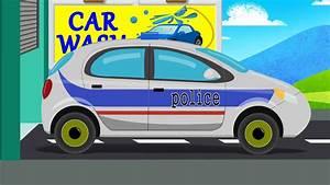 Cars Youtube Français : france police car car wash game video for kids youtube ~ Medecine-chirurgie-esthetiques.com Avis de Voitures